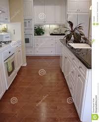 kitchen wood flooring ideas beautiful kitchen with wood floors royalty free stock photos