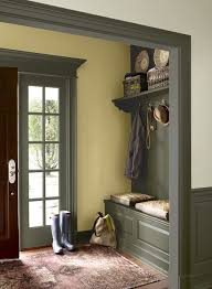 green entryway ideas sunny sophisticated green entry paint