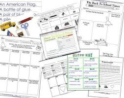 back to printables activity sheets