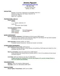Sample Resume For Non Experienced Applicant by How To Make A Good Cv With No Experience Example Making The