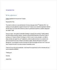 job application sample bunch ideas of example letter for job