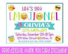 iphone cell phone teen tween birthday party invitation printable
