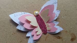 make a decorative paper butterfly diy crafts tutorial