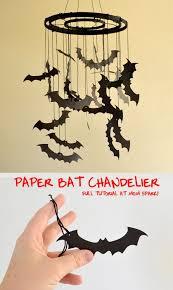Chandelier Making Supplies Paper Bat Chandelier Tutorial Mom Spark Mom Blogger
