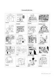36 free esl community worksheets