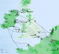 Map Of Ireland And England Ireland Travel Map Ireland Map