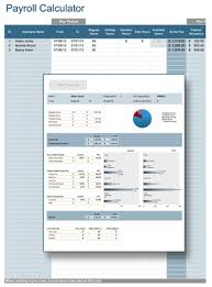 payroll calculator professional payroll for excel