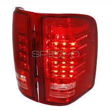 spec d tail lights spec d tuning red clear led tail lights lt siv07rled rs az motor