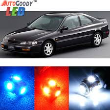 97 honda accord lights premium interior led lights package upgrade for honda accord 1994