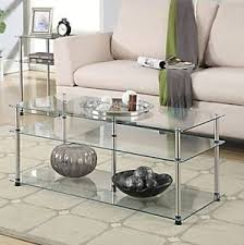Clear Coffee Table Clear Coffee Table Ebay