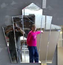 new decorative crown mirror dressing mirror fantail mirrors home