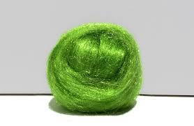 key lime green key lime green firestar needle felting wet felting spinning