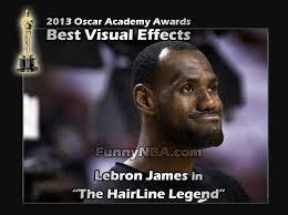 Lebron Headband Meme - the nba oscar awards nba funny moments