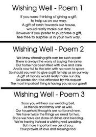 Wedding Gift Money Poem Wishing Well Poem Wedding Pinterest Poem Wedding And Wedding