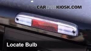 Third Brake Light Bulb Change Ford F 350 Super Duty 2008 2016