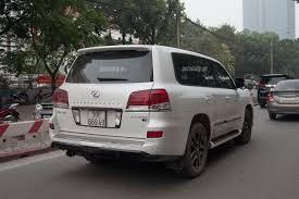 xe lexus 570 lexus lx570 phiên bản đặc biệt bất ngờ xuất hiện tại hà nội