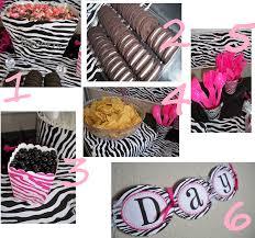zebra baby shower table decorations baby shower diy