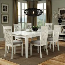 White Wooden Dining Table And Chairs Wonderful White Wood Dining Table And Chairs Endearing White
