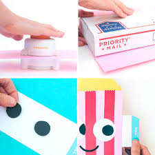 Gift Wrapping How To - diy circus gift wrap