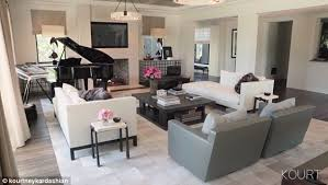 kourtney kardashian shows off her beautifully redesigned home in