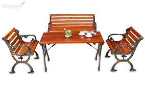 ebony table and chairs buy royaloak ebony table and chair set by online in india office