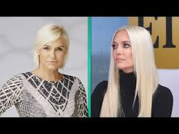 yolanda foster hair color exclusive erika jayne says watching real housewives is painful