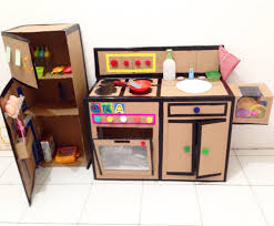 diy kitchen set from cardboard diy kitchen set from cardboard