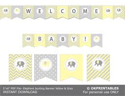 light yellow baby light yellow and pale grey elephant baby by okprintables on zibbet