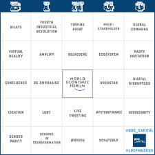 Bbc Capital The Man Who by Bbc Capital Buzzword Bingo Davos Edition