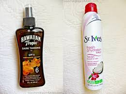 Tanning Oil With Spf Brunette Creative January 2015
