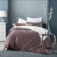 high quality pima cotton brand bedding set duvet cover solid color