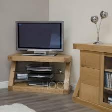 z oak corner tv cabinet oak furniture by house of oak