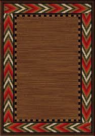 chevron border area rug western rugs free shipping