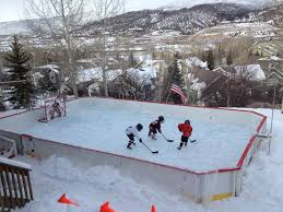 Backyard Hockey Rink by 35 Best Backyard Ice Rink Images On Pinterest Backyard Ice Rink
