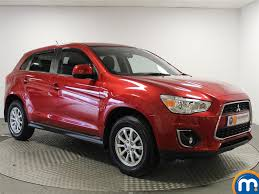 mitsubishi outlander sport 2014 red used mitsubishi asx red for sale motors co uk