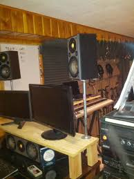 Studio Monitor Stands For Desk by Homemade Audio Recordings How To Build Studio Monitor Stands On
