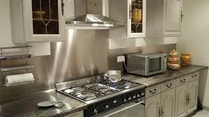 credence cuisine sur mesure plakinox photos crédences inox réalisation de crédences