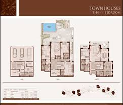 townhouse designs and floor plans apartments 4 bedroom townhouse designs single floor house plans