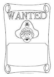 wanted poster writing frames and printable page borders ks1 u0026 ks2