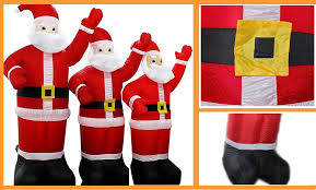 Extra Large Inflatable Christmas Decorations by Christmas Inflatable Santa Truck Inflatable Christmas Decoration