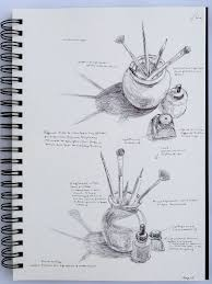 exercise still life sketches of made objects ocadrawing1log