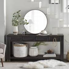 White Foyer Table Console Sofa And Entryway Tables You Ll Wayfair