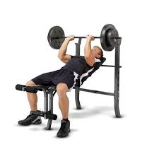 Weight Bench With Barbell Set Marcy Weight Bench Set Academy