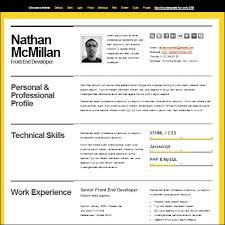 the best resume templates 35 best cv and résumé templates