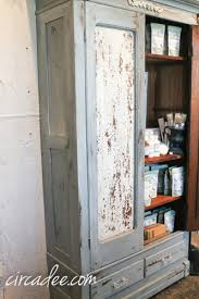 Farmhouse Armoire New Milk Paint Display U2013 Circa Dee