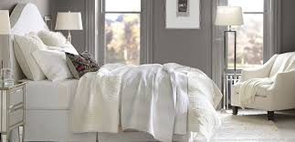 Pottery Barn Bedding How To Use All White Bedding