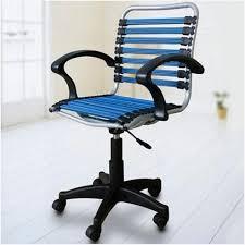 bungee chair office buy bungee elastic office chair blue black