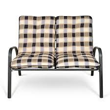 Furniture Sofa Set Printing Ikayaa Fashion 4 Pieces Cushioned Patio Garden Furniture