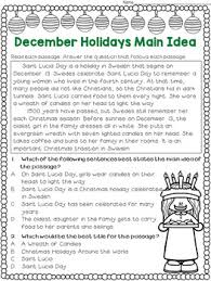 idea and best title worksheets december holidays test prep
