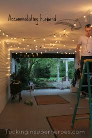 Patio String Lighting by Vintage Patio String Lights Black Cord Light Top Kitchen Tables